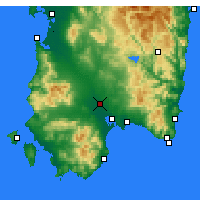Nearby Forecast Locations - Decimomannu - Χάρτης