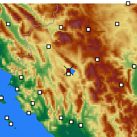 Nearby Forecast Locations - Ιωάννινα - Χάρτης