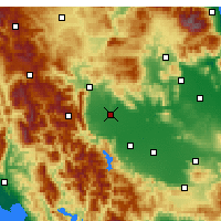 Nearby Forecast Locations - Τρίκαλα - Χάρτης
