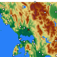 Nearby Forecast Locations - Άρτα - Χάρτης