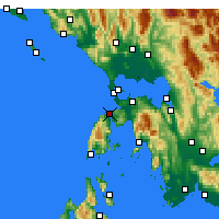 Nearby Forecast Locations - Λευκάδα - Χάρτης