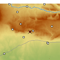 Nearby Forecast Locations - Μαρντίν - Χάρτης