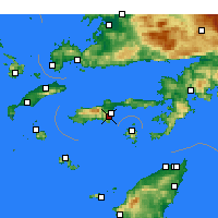Nearby Forecast Locations - Datça - Χάρτης