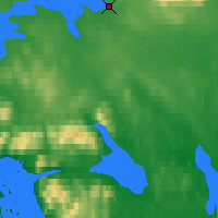 Nearby Forecast Locations - Apatity - Χάρτης