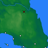 Nearby Forecast Locations - Lesogorskiy - Χάρτης