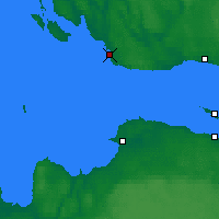 Nearby Forecast Locations - Sursari Gogland Island - Χάρτης