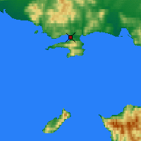 Nearby Forecast Locations - Μαγκαντάν - Χάρτης