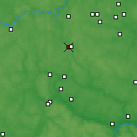 Nearby Forecast Locations - Naro-Fominsk - Χάρτης