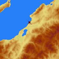 Nearby Forecast Locations - Gorjacinsk - Χάρτης