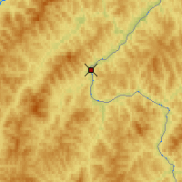 Nearby Forecast Locations - Urjupino - Χάρτης