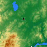 Nearby Forecast Locations - Gorin - Χάρτης
