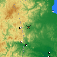 Nearby Forecast Locations - Pogranichny - Χάρτης