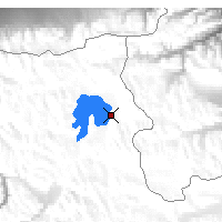 Nearby Forecast Locations - Karakul - Χάρτης