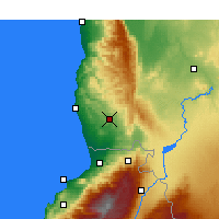 Nearby Forecast Locations - Safita - Χάρτης