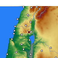 Nearby Forecast Locations - Har-knaan - Χάρτης