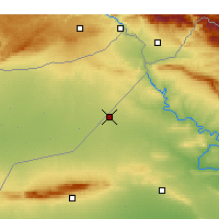 Nearby Forecast Locations - Rabiah - Χάρτης