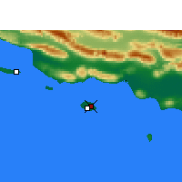 Nearby Forecast Locations - Kish - Χάρτης