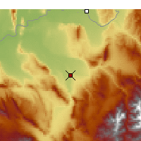 Nearby Forecast Locations - Kunduz - Χάρτης
