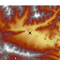 Nearby Forecast Locations - Jalalabad - Χάρτης
