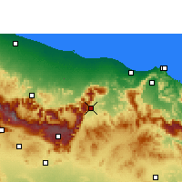 Nearby Forecast Locations - Samail - Χάρτης