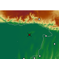 Nearby Forecast Locations - Sylhet - Χάρτης
