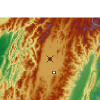 Nearby Forecast Locations - Imphal - Χάρτης