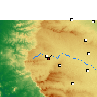 Nearby Forecast Locations - Nashik - Χάρτης