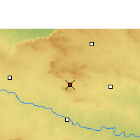 Nearby Forecast Locations - Aurangabad - Χάρτης