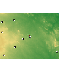 Nearby Forecast Locations - Hanamakonda - Χάρτης