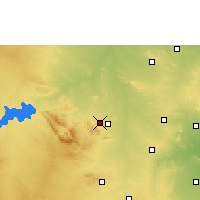 Nearby Forecast Locations - Bellary - Χάρτης