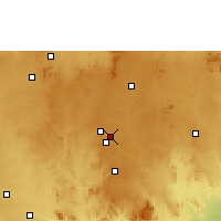 Nearby Forecast Locations - Bangalore / Hindustan - Χάρτης