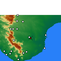 Nearby Forecast Locations - Palayamkottai - Χάρτης