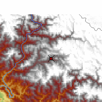 Nearby Forecast Locations - Jumla - Χάρτης