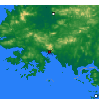 Nearby Forecast Locations - Haeju - Χάρτης