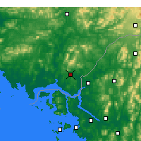 Nearby Forecast Locations - Kaesong - Χάρτης