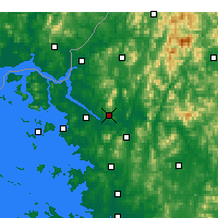 Nearby Forecast Locations - Σεούλ - Χάρτης