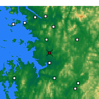 Nearby Forecast Locations - Osan - Χάρτης