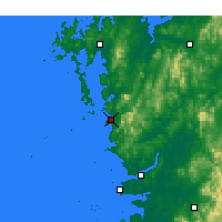 Nearby Forecast Locations - Boryeong - Χάρτης