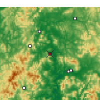 Nearby Forecast Locations - Gumi - Χάρτης