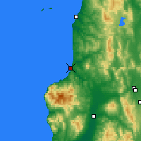 Nearby Forecast Locations - Rumoi - Χάρτης