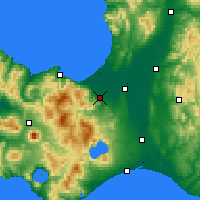 Nearby Forecast Locations - Σαππόρο - Χάρτης