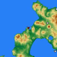 Nearby Forecast Locations - Suttsu - Χάρτης