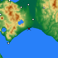 Nearby Forecast Locations - Tomakomai - Χάρτης