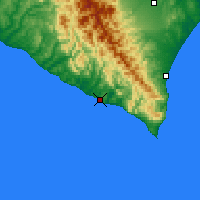 Nearby Forecast Locations - Urakawa - Χάρτης