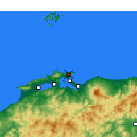 Nearby Forecast Locations - Sakaiminato - Χάρτης