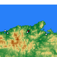 Nearby Forecast Locations - Toyooka - Χάρτης