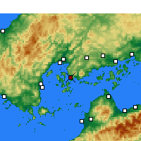 Nearby Forecast Locations - Kure - Χάρτης