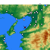 Nearby Forecast Locations - Kansai region - ������