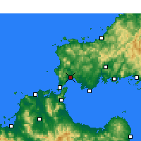 Nearby Forecast Locations - Ozuki - Χάρτης