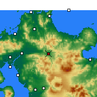 Nearby Forecast Locations - Hita - Χάρτης